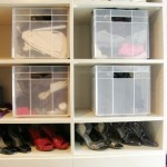 Organising shoes